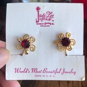 Vintage Judy-Lee Jewelry Earring